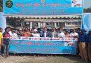 চৌহালীতে বঙ্গবন্ধু শেখ মুজিব ঢাকা ম্যারাথন অনুষ্ঠিত